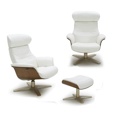 J&M Karma White Chair