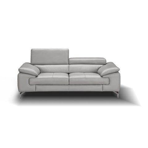 J&M Furniture Liam Loveseat in Grey