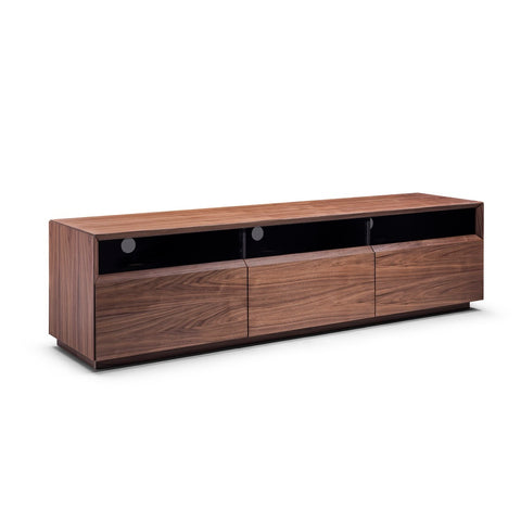 J&M Furniture Lisa TV Stand in Walnut