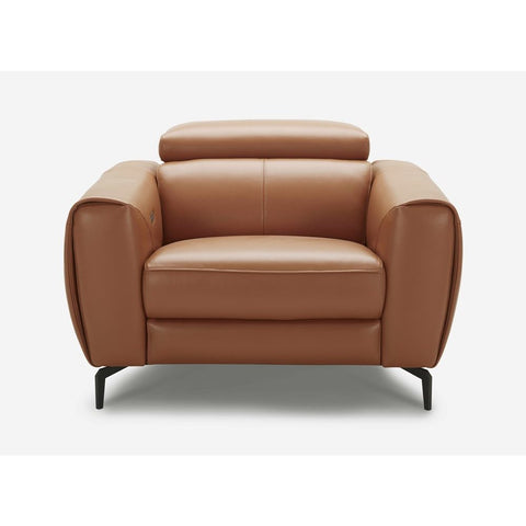 J&M Furniture Lorenzo Chair in Caramel
