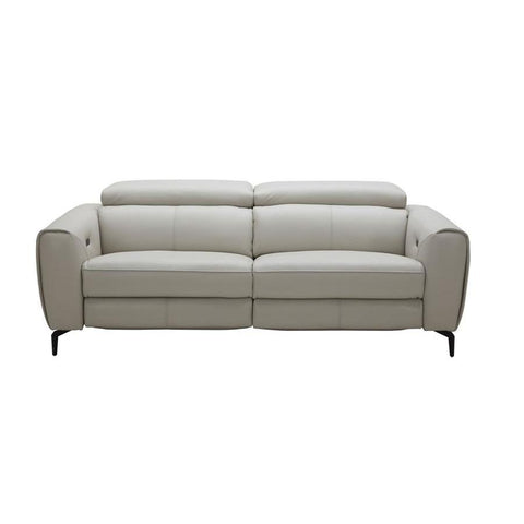 J&M Furniture Lorenzo Sofa in Light Grey