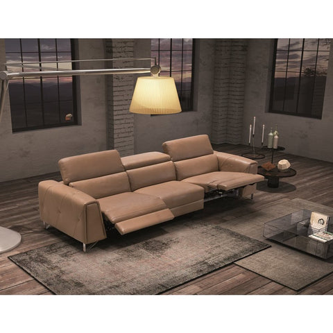 J&M Furniture Magic Sofa in Taupe