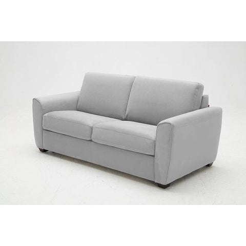 J&M Furniture Marin Sofa Bed in Light Grey Fabric