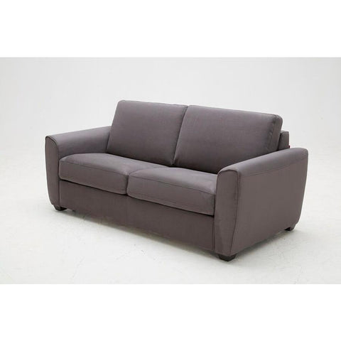 J&M Furniture Mono Sofa Bed in Grey Fabric
