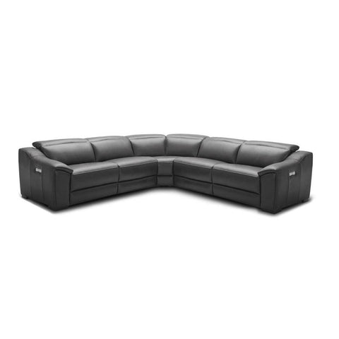 J&M Furniture Nova Motion Sectional In Dark Grey in Dark Grey