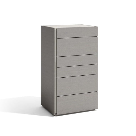 J&M Furniture Porto Chest in Grey