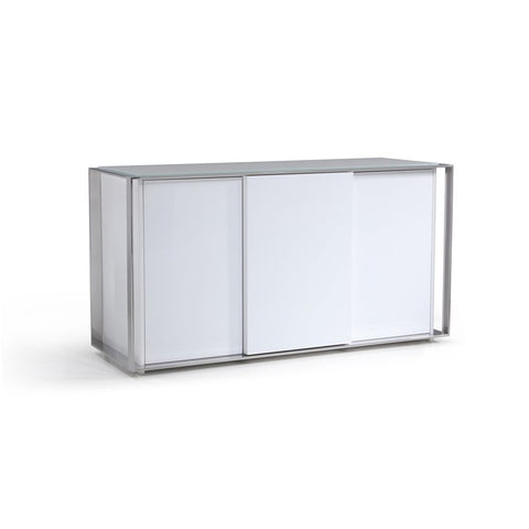 J&M Furniture Star Buffet in White