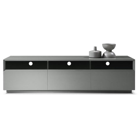 J&M Tv023 Grey Gloss TV Stand