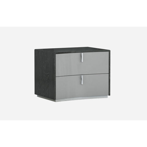 J&M Furniture Vera Nightstand in Grey