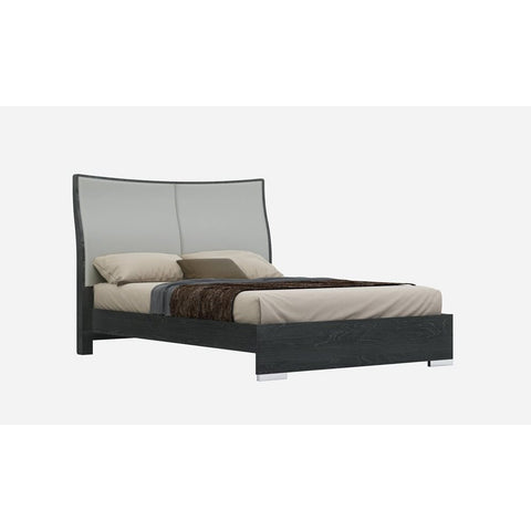 J&M Furniture Vera Platform Bed in Grey