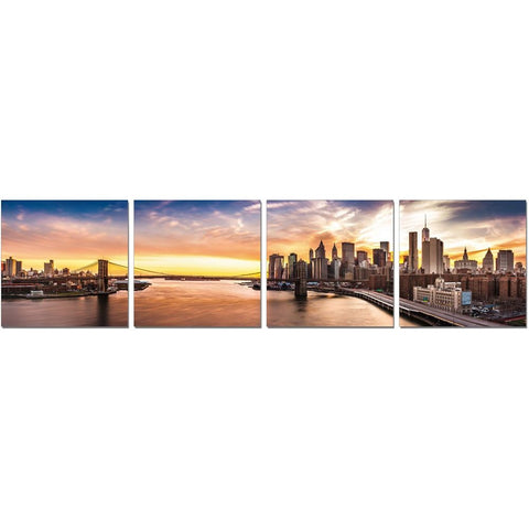 J&M Furniture Wall Art New York Sunset
