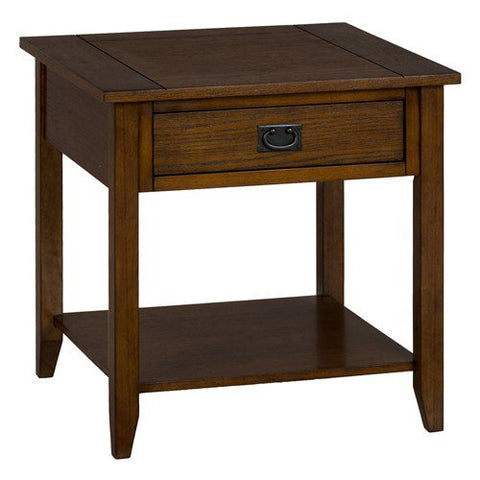 Jofran 1032-3 End Table w/ One Drawer & One Shelf