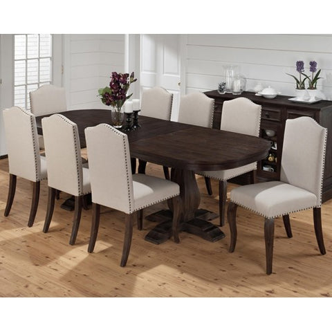 Jofran 634-102 9 Piece Dining Room Set w/ Butterfly Leaf