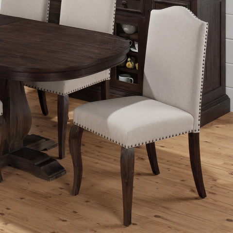 Jofran 634-422KD Upholstered Side Chair
