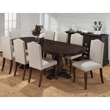 Jofran 634-102 10 Piece Dining Room Set w/ Butterfly Leaf