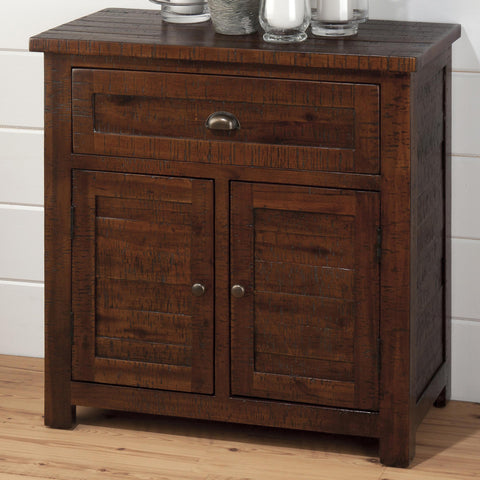 Jofran 730-13 Accent Cabinet in Rough Hewn