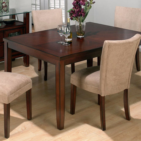 Jofran 888-72 Carslbad Cherry Butterfly Leaf Parson Dining Table