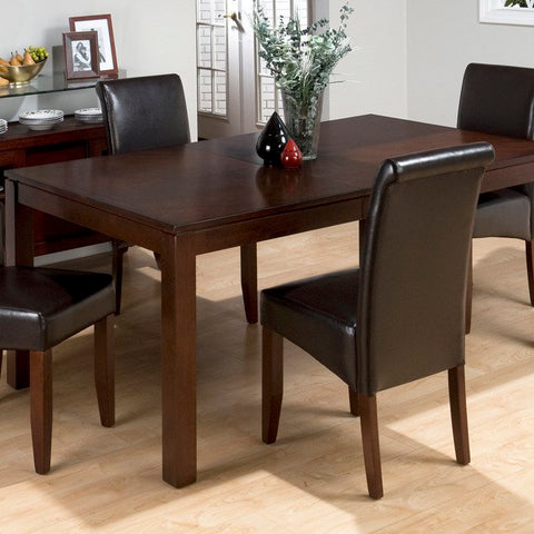 Jofran 888-73 Carlsbad Cherry Butterfly Leaf Rectangular Dining Table