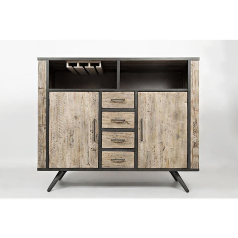 Jofran American Retrospective Highboard in Grey Wash