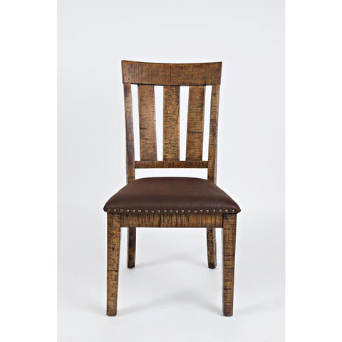 Jofran Cannon Valley Dining Chair w/Upholstered Seat