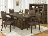 Jofran Cannon Valley Dining Table w/Storage Base