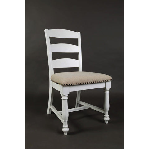 Jofran Castle Hill Ladder Back Dining Chair in Linen
