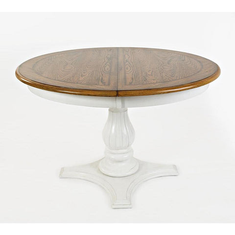 Jofran Castle Hill Round To Oval Dining Table