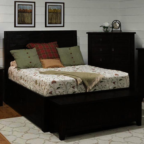 Jofran Kona Grove 3 Piece Storage Platform Bedroom Set
