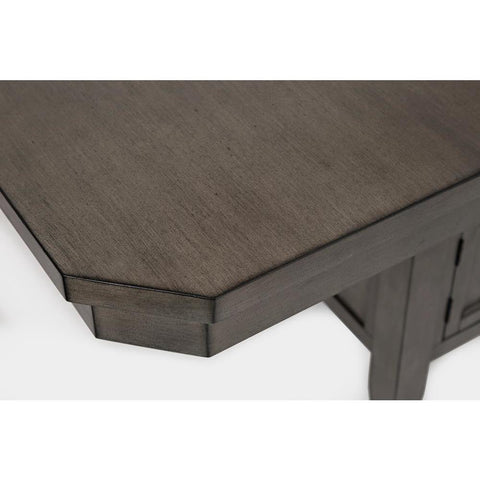 Jofran Manchester High/Low Rect Dining Table in Grey