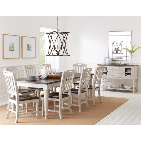 Jofran Orchard Park 10 Piece Rectangular Extension Dining Room Set