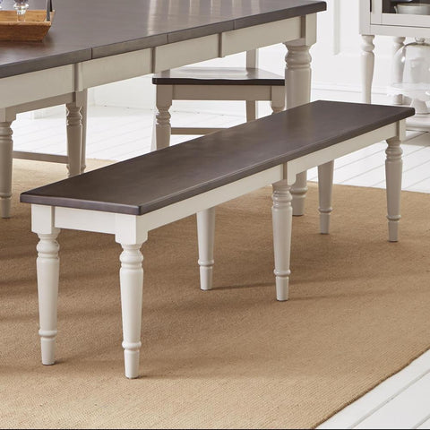 Jofran Orchard Park 76 Inch Bench