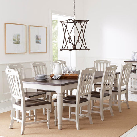 Jofran Orchard Park 9 Piece Rectangular Extension Dining Room Set