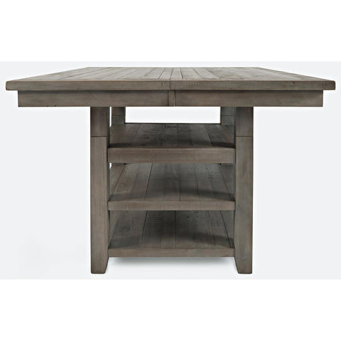 Jofran Outer Banks Hi/Low Square Storage Dining Table