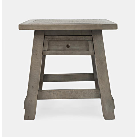 Jofran Outer Banks Power End Table in Driftwood