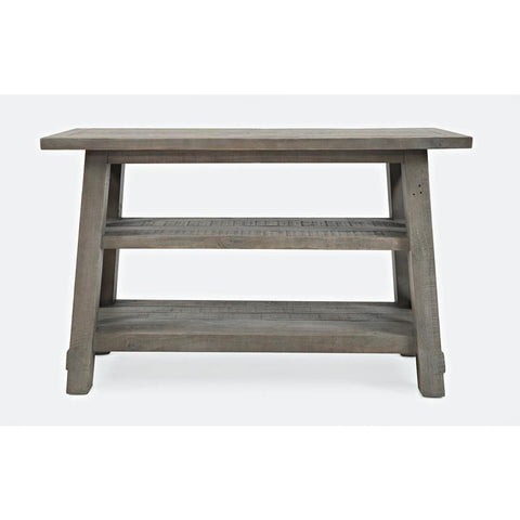 Jofran Outer Banks Sofa Table in Driftwood