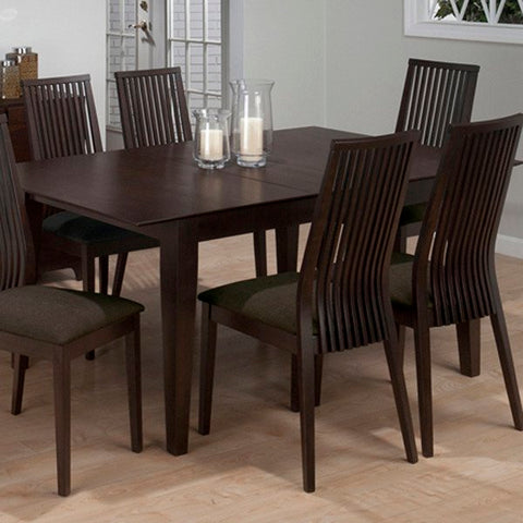 Jofran Ryder Rectangle Butterfly Leaf Dining Table in Ash