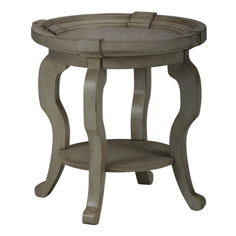 Jofran Sebastian End Table in White