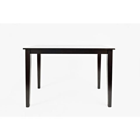 Jofran Simplicity Counter Height Table in Espresso