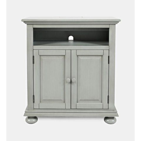 Jofran Stately Manor Power Accent Chest in Earl Grey