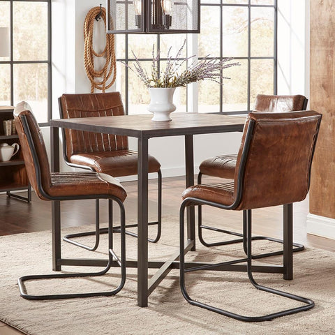 Jofran Studio 16 5 Piece Counter Height Table Set
