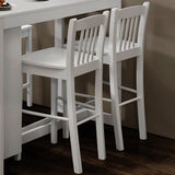 Jofran Tribeca Counter Height Stool in Classic White