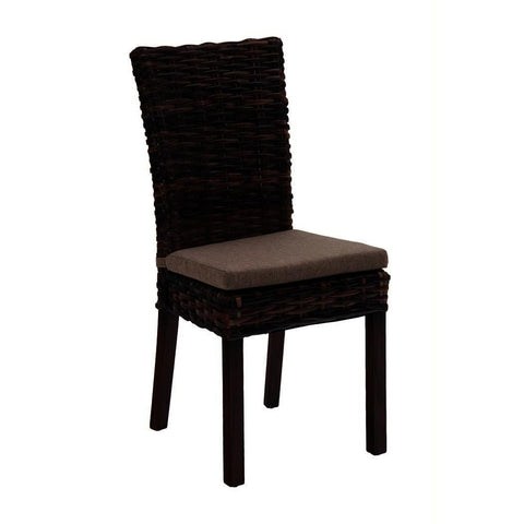 Jofran Urban Lodge Assembled Rattan Dining Chair w/out Cushion