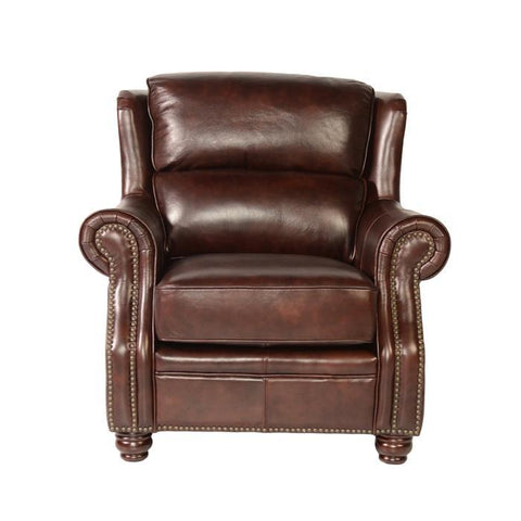 Lazzaro Appalachian Leather Chair in Rustic Savauge