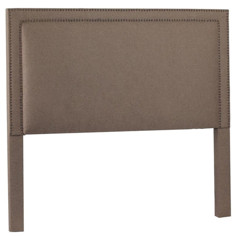 Leffler Brookside Nailhead Headboard in Lisburn Rattan