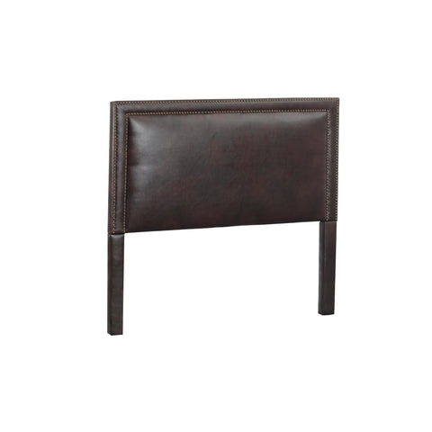 Leffler Brookside Nailhead Headboard in Royalty Bi cast