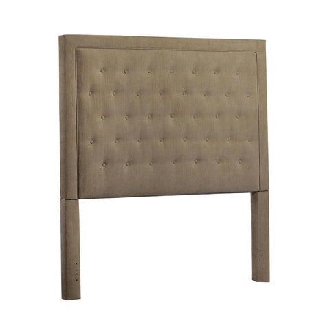Leffler Eden Upholstered Queen Headboard in Brooke Pecan