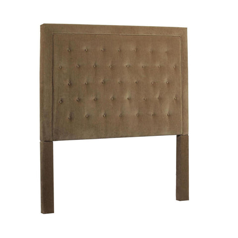 Leffler Eden Upholstered Queen Headboard in Portland Camel