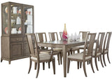 Legacy Apex Display Cabinet w/Hutch in Dusk