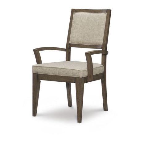 Legacy Apex Upholstered Back Arm Chair in Dusk