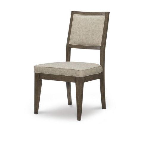 Legacy Apex Upholstered Back Side Chair in Dusk